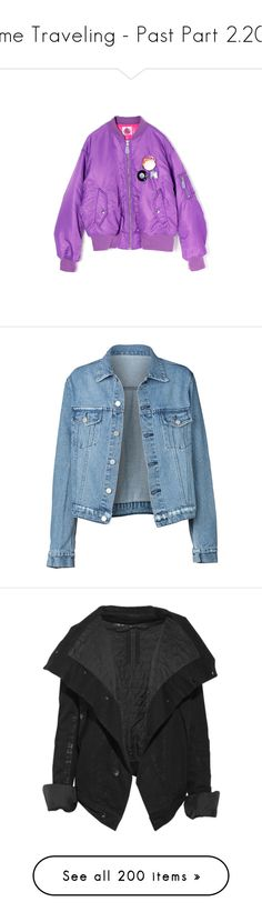 """Time Traveling - Past Part 2.209"" by my-shiny-shackles ❤ liked on Polyvore featuring past, jackets, outerwear, tops, denim jackets, jean jackets, blue jean jacket, denim jacket, blue denim jacket and blue jackets"