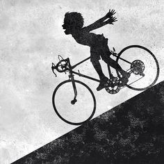 This. Feeling.  #downhill #bicycle
