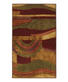 Look at this Mohawk Home Wine Picasso Rug on #zulily today!