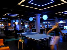 River North's Jaw-Dropping Ping Pong Bar is Now Open