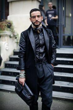 Leather shirt & Jacket