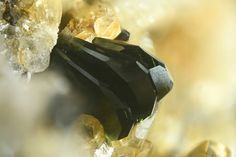 Kulanite. Rapid Creek, Dawson Mining District, Yukon Territory, Canada Copyright © Stephan Wolfsried 9/2014