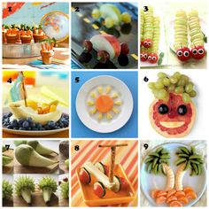 "9 Adorable Easy-to-Make ""Food Art"" Healthy Banana Bread, Healthy Cake, Healthy Food, Healthy Kids, Pastas Recipes, Bento Recipes, Cute Snacks, Cute Food, Snacks Ideas"
