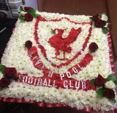 Liverpool badge tribute