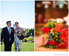 Flowers: Nancy Krause Floral Design & Garden Antiques | Photography: Jill Tiongco Photography & Design #Chicago #wedding @nkfloraldesign http://nkfloraldesign.com