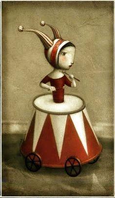 The Fool - Nicoletta Ceccoli Tarot