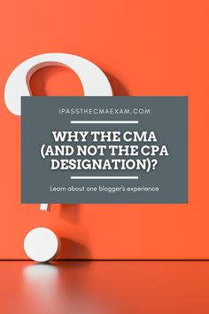 Have you ever wondered why someone would choose CMA and not CPA? Our guest blogger Casey breaks down some thoughts about the distinctions and future plans, as well! #CMA #CMAExam #EarnCMA Accounting Student, Cost Accounting, Exam Study Tips, Exams Tips, Career Path, Career Advice, Enrolled Agent, Cpa Exam, Career Exploration
