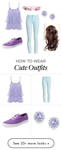 """""""Cute casual outfit"""" by kari-damore on Polyvore featuring Barbour, Keds, H&M and Ice"""