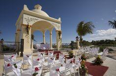Grand Bahia Principe Riviera Maya Wedding Gazebo #destinationwedding #rivieramaya #mexico www.bahiaprincipe.com