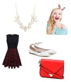 """Dove Cameron #2"" by taylorbest921 on Polyvore featuring beauty, Charlotte Russe and Alexander Wang"