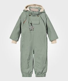 Mini A Ture Wisto M Coverall Chinois Green Chinois Green - 1