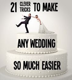 21 Clever Tricks to make Any Wedding So Much Easier | Buzzfeed #WeddingTips