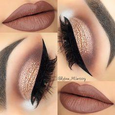 """13.7k Likes, 84 Comments - R U B I N A (@rubina_muartistry) on Instagram: """" EYESHADOWS: @shopvioletvoss HG Eye Shadow Palette GLITTER: @certifeye glitter LASHES:…"""""""
