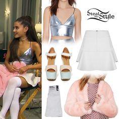 Entertaiment Tonight: Lea Michele & Ariana Grande Show Off 'Scream Queens' Killer Set - youtube