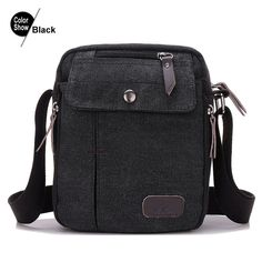 RoyaDong Men Messenger Bags Canvas Vintage Small Man Shoulder Bags For Male High Quality 2016 Flap Casual Bag