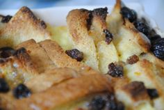 Ginger Jam Bread and Butter Pudding