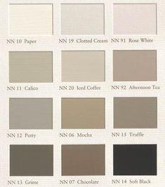 1000 images about muurverf kleuren on pinterest met van and taupe - Taupe kleuren schilderij ...