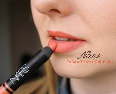NARS - Digital World Lip Pencil Coffret 0.06 oz Mini Satin lip pencil in Torres Del Paine (peach coral)