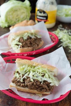 Of all the delicious meals I have had the pleasure of eating in New Orleans, by far my favorite is a drippy, sloppy, saucy roast beef po' boy