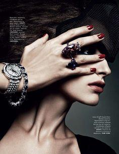 Danil Golovkin #photography | Vogue Russia December 2012