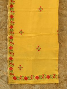 buy hand embroidery Designer saree stoles bags
