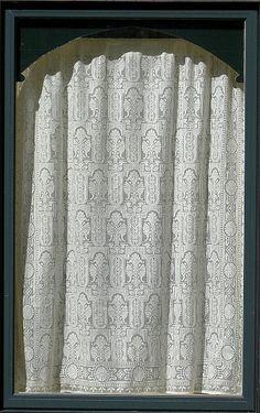 Eastlake Lace Curtain  designed by Bradbury & Bradbury