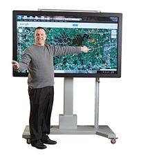 Demco.com - TouchIT™ Interactive Touchscreen Displays - LED Duo - no projector needed, plays Blu-Ray discs