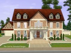 The Cecil luxurious mansion by Demented Designs - Sims 3 Downloads CC Caboodle
