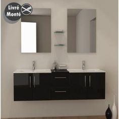 Salle de bains Lotus Noir et Blanc Discac Orialys