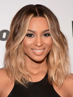 Medium Length Wavy Hairstyles for Black Women