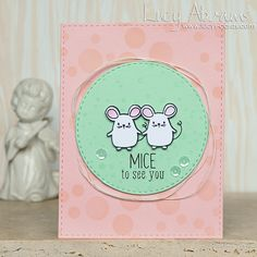 Mice to See You for SSS by Lucy Abrams