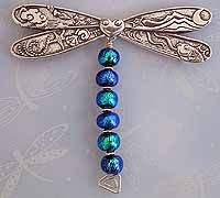 large dragonfly pin