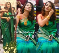 Trisha Krishnan in a traditional saree – South India Fashion Lehnga Dress, Lehenga, Trisha Saree, Trisha Actress, Engagement Saree, Saree Jewellery, Sumo, Silk Saree Blouse Designs, Indian Bridal Outfits