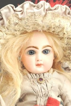 September 21 Doll Auction: Lot # 261 | Dainty Jumeau Bébé Doll #MorphyAuctions September 21, Madame Alexander, French Fashion, Antique Dolls, Disney Characters, Fictional Characters, Aurora Sleeping Beauty, Porcelain, Auction