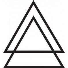triple triangles meaning balance - Google Search