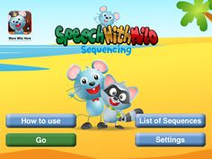 App Review: Speech With Milo Sequencing