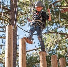 Tahoe Treetop Adventure Park - Tahoe City, CA #Outdoor #Adventure #KidsActivities #Yuggler