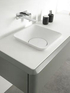 Fluent collection by Inbani. #bathroom #furniture #design #washbasin