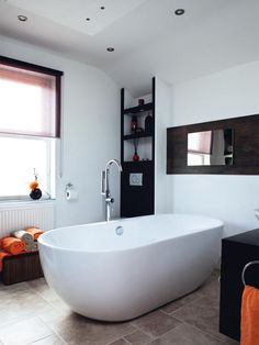Free-standing baths = pure luxury