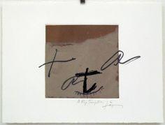 Artist: Antoni Tàpies,  title: Antoni Tàpies,  technology: Etching, Carborundum, Vernis Mou
