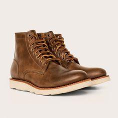 Oak Street Bootmakers | Natural Vibram Sole Trench Boot - Footwear