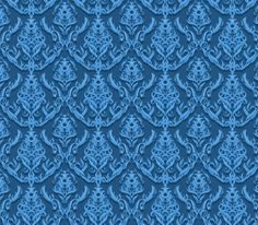 "Blue Embossed ""Frost"" Tileable GIF Pattern - http://www.welovesolo.com/blue-embossed-frost-tileable-gif-pattern/"