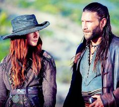 Charles Vane and Anne Bonny in 3x07