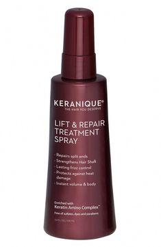 New Keranique Lift Repair Hair Treatment Spray beauty makeup perfume. Fashion is a popular style Oil For Hair Loss, Stop Hair Loss, Prevent Hair Loss, Underarm Hair Removal, Hair Removal Cream, Home Remedies For Hair, Hair Loss Remedies, Nordstrom, Hair Loss Shampoo