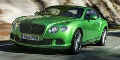 Bentley Green Side View Wallpaper Photo and Images