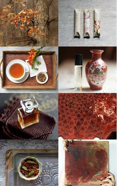"""""""Variety is the spice of life"""" - a wonderful treasury curated by Angel, of SymbolicImports, featuring my painting """"Silk Road Sienna""""--Pinned with TreasuryPin.com"""