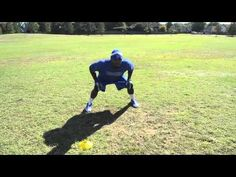 ▶ Play Like A Pro! - Linebacker Drill - Shuffle Read Run (Tackle Pursuit) - Sports Takeoff - YouTube