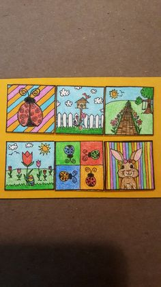 Cork Art, Artist Trading Cards, Tim Burton, Atc, Minions, Miniatures, Painting, The Minions, Paintings