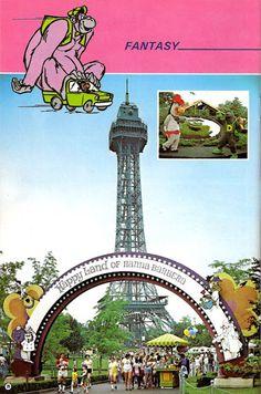 1979 Kings Island Park Guide - page 20 - Kings Island Central History Photo Gallery Kings Island Ohio, Kings Island Cincinnati, Family Memories, Childhood Memories, Adventure World, Park Playground, Island Park, Roadside Attractions, Park Photos