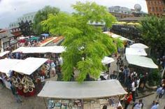 CAMDEN TOWN MARKETS - one of my absolute favourite places in all of London. Go for an hour or an entire day.